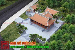 Thiết kế đình chùa