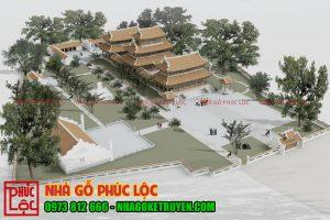 thiết kế nhà chùa